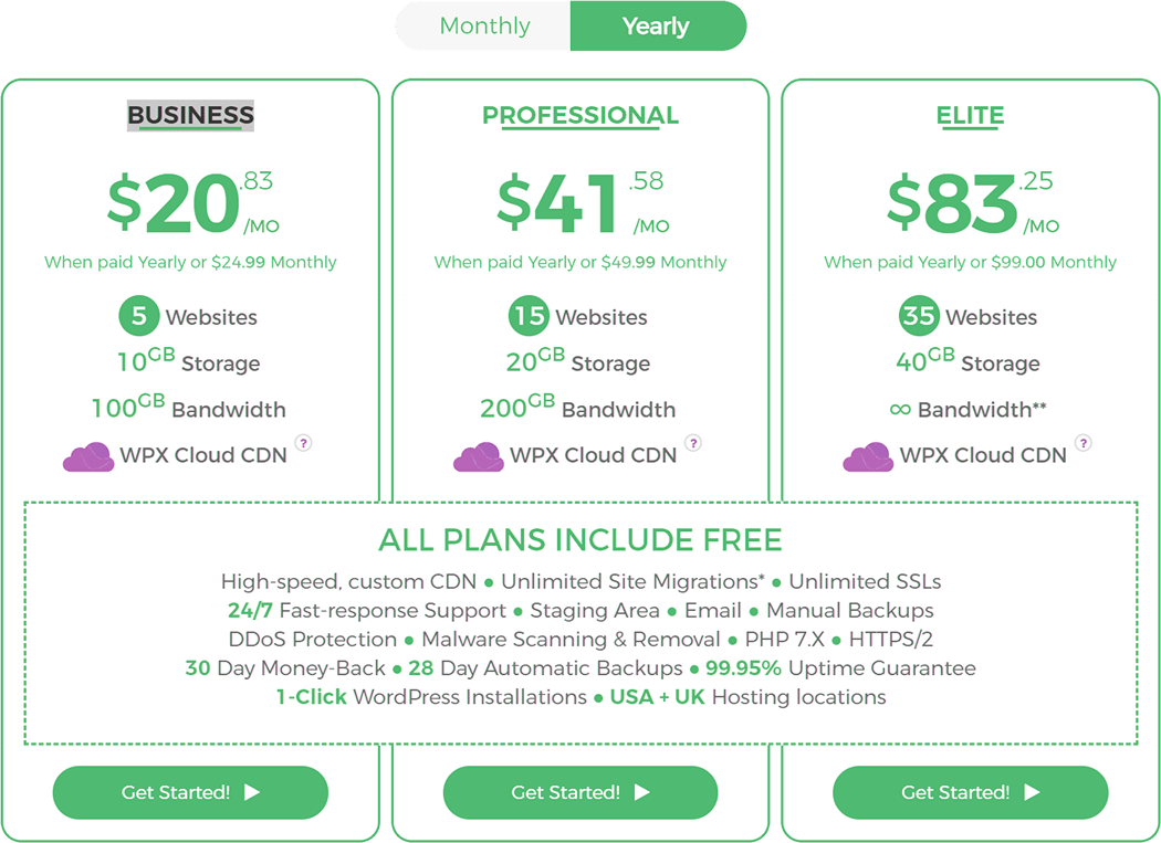 wpx-hosting-pricing-list